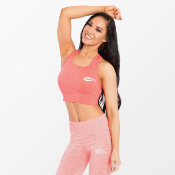 Smilodox Biustonosz sportowy Fashioner pink