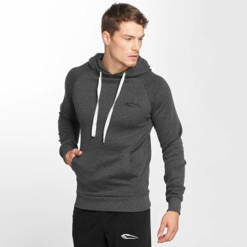 Smilodox Hoodie Slim Fit Jersey gray