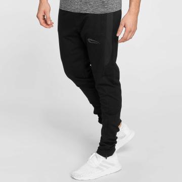 Smilodox Jogging kalhoty Smooth čern