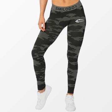 Smilodox Legging Army Seamless schwarz
