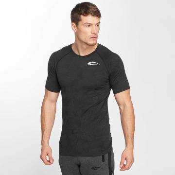 Smilodox T-Shirt Camo Pattern Seamless gray