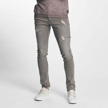 Solid Облегающие джинсы Dexter серый