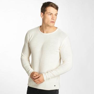 Solid Пуловер Navid белый