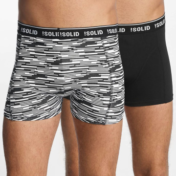Solid Boxer Short Jovian Trunks 2-Pack colored