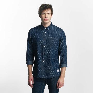 Solid Hemd Magic blau