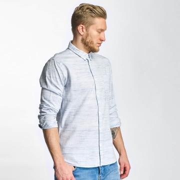 Solid overhemd Shirt Haddon blauw