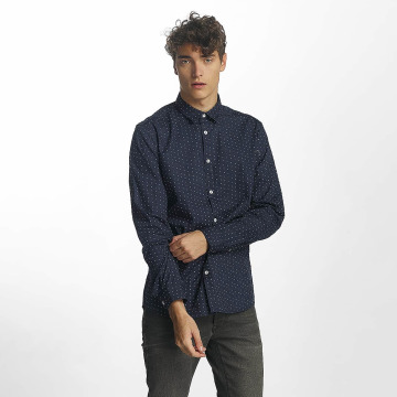 Solid overhemd Lodge blauw