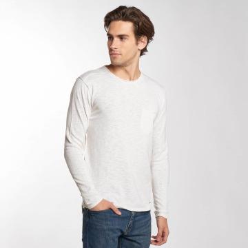 Solid Pitkähihaiset paidat Norfolk valkoinen