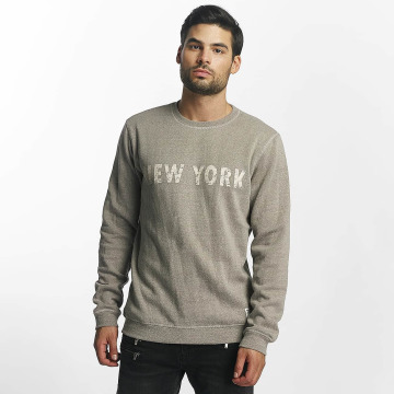 Solid Pullover Leopold gray