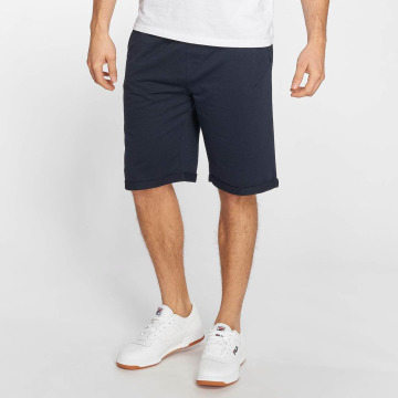 Solid shorts Gibby blauw