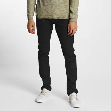 Solid Slim Fit -farkut Joy musta