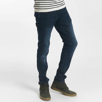 Solid Slim Fit Jeans Joy Strech blå