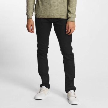 Solid Slim Fit Jeans Joy nero