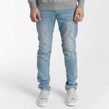 Solid Straight Fit Jeans Joy blå