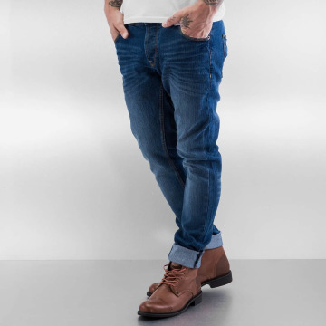 Solid Straight Fit Jeans Joy Stretch blau