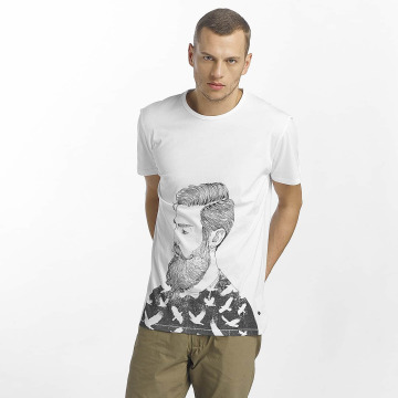 Solid T-Shirt Magee blanc