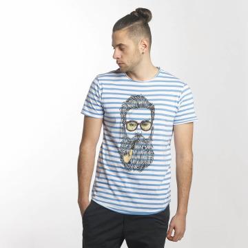 Solid T-Shirt Malik bleu