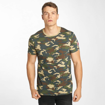 Solid t-shirt Nilsson camouflage