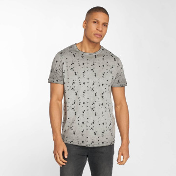 Solid T-Shirt Newton gris
