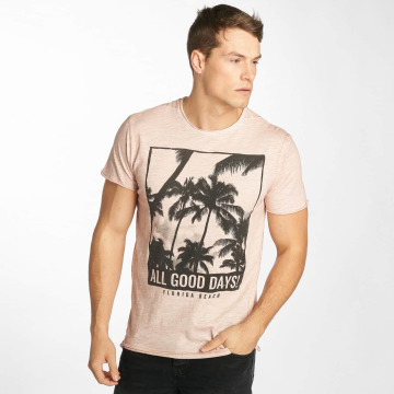 Solid T-Shirt November rose