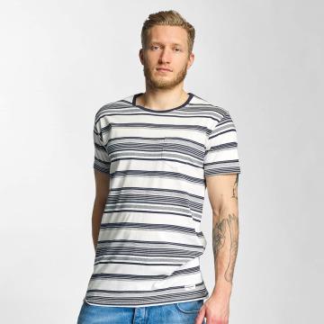 Solid T-Shirt Halstoll weiß