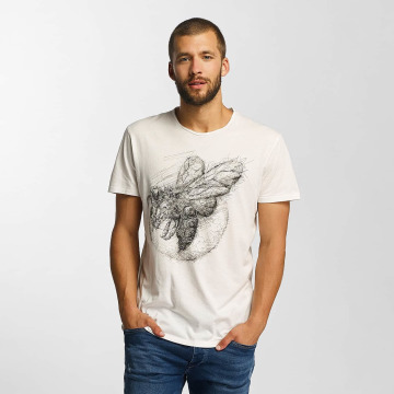 Solid T-Shirt Jacot weiß