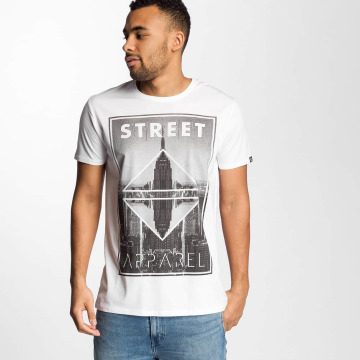 Solid t-shirt Harland wit