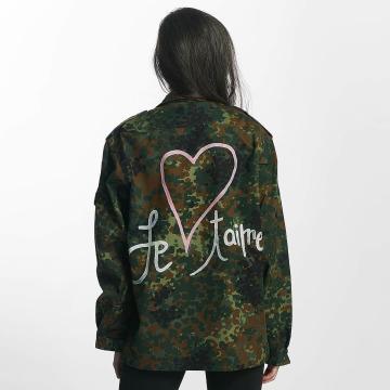 Soniush Демисезонная куртка Je Taime камуфляж