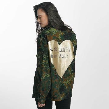 Soniush Демисезонная куртка No Glitter камуфляж