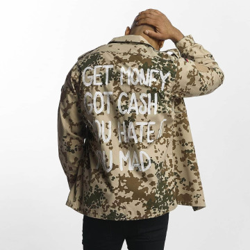 Soniush Демисезонная куртка Cash камуфляж