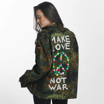 Soniush Übergangsjacke Peace Jacket camouflage