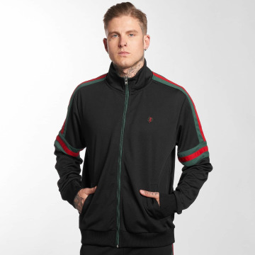 Southpole Демисезонная куртка Stripe Taping черный