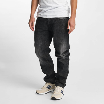 Southpole Jeans straight fit Slim nero