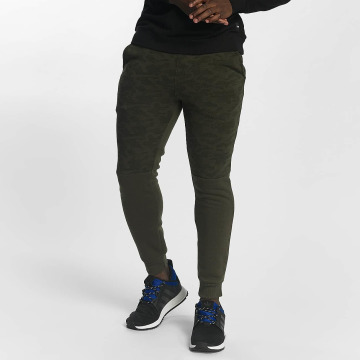 Southpole Jogging Camo Block Fleece olive
