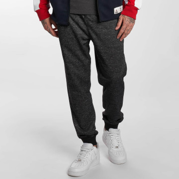 Southpole joggingbroek Marled F.Terry zwart