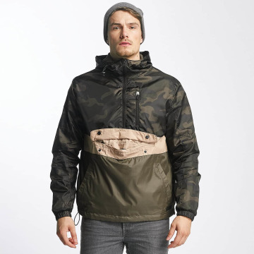 Southpole Lightweight Jacket Colorblock Anorak camouflage