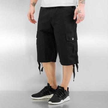 Southpole Pantalón cortos Basic negro
