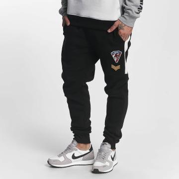 Southpole Pantalón deportivo Patch negro