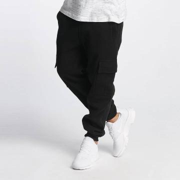 Southpole Pantalone ginnico Basic Fleece Cargo nero