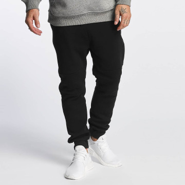 Southpole Pantalone ginnico Fleece nero
