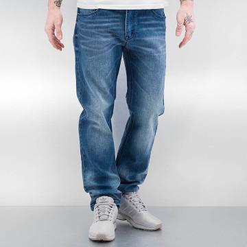 Southpole Straight Fit Jeans Flex Wash blå