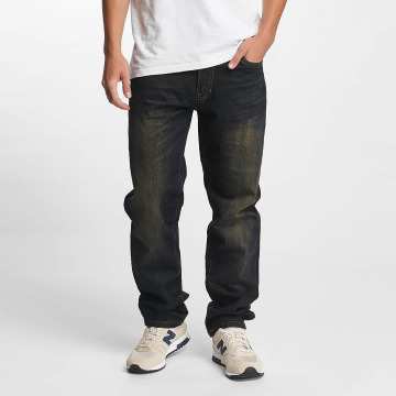 Southpole Straight Fit Jeans Slim black