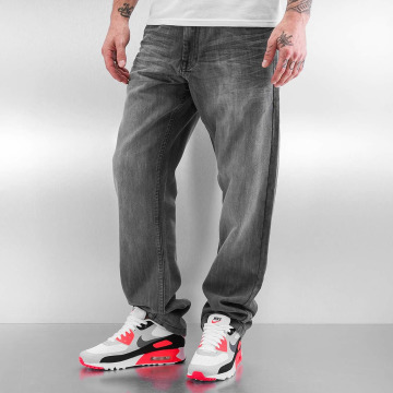 Southpole Straight Fit Jeans Deacon grau