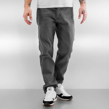 Southpole Straight fit jeans Vernon grijs
