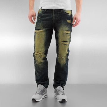 Southpole Straight Fit Jeans Ripped Slim oliven