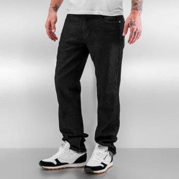 Southpole Straight fit jeans Vernon zwart