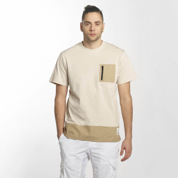 Southpole T-Shirt Pocket beige