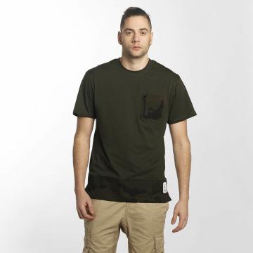 Southpole T-Shirt Pocket olive