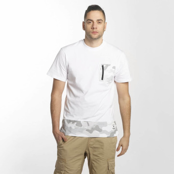 Southpole T-Shirt Pocket white