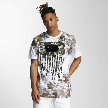 Southpole t-shirt Camo Print Fur Technique wit